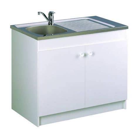 l evier de cuisine meuble de cuisine complet sous évier 2 portes sim 39 nf neova