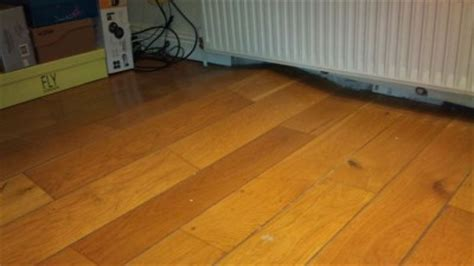 hardwood floor buckled water are you foundation problems check for these signs