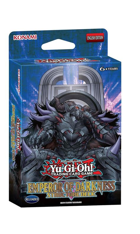yu gi oh emperor of darkness structure deck at mighty