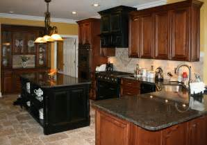 light colored oak cabinets with granite countertop kitchens distressed cherry kitchen cabinets