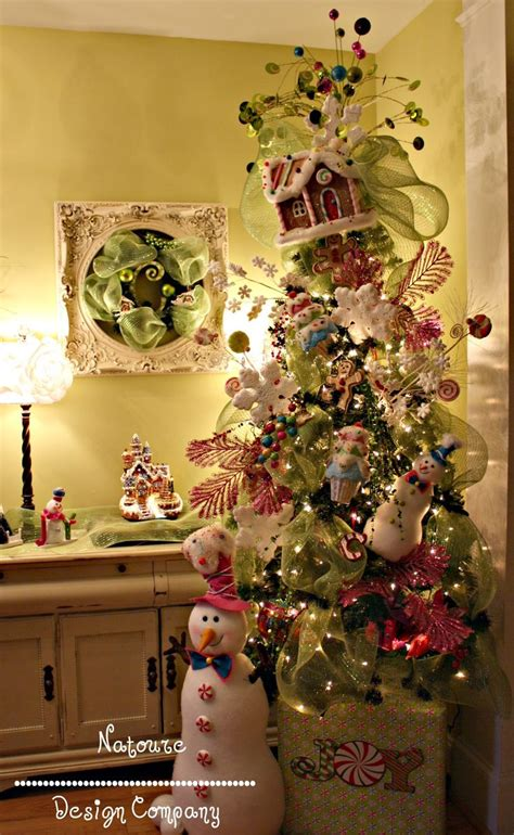 gingerbread trees and kitchens on pinterest