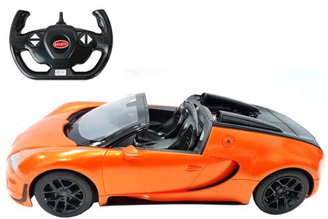 Full function radio controlled forward, reverse, stop, left & right adjustable front wheel alignment all independent spring suspension system. RC Remote Control Bugatti Veyron Grand Sport Vitesse Special Version Car | eBay