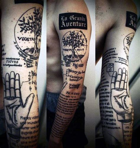 quote tattoos  men expression  words written  ink