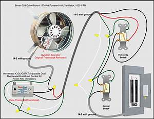 Wiring Diagram For Whole House Fan