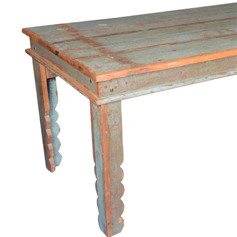 distressed wood kitchen tables appalachian rustic distressed reclaimed wood pastel