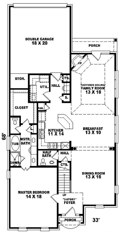 home plans for small lots home plans for narrow lots smalltowndjs com