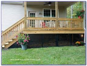raised deck skirting ideas decks home decorating ideas 4d5opklxl3