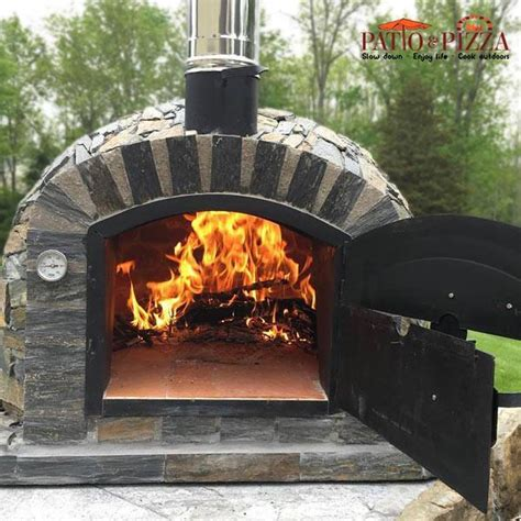 brick pizza oven  stone finish buy today