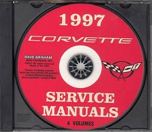 1997 Chevrolet Corvette Repair Shop Manual Original 3