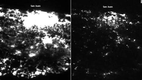 Satellite images show power loss from maria | time pinpointing where the. These satellite photos show just how bad the situation is in Puerto Rico - CNN