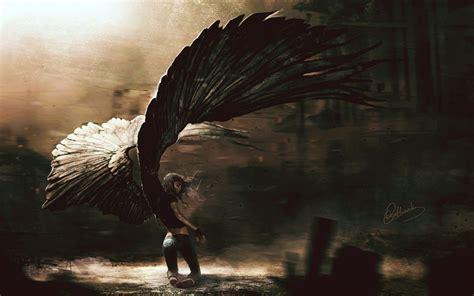 great fantasy fallen angel background wallpapers angel
