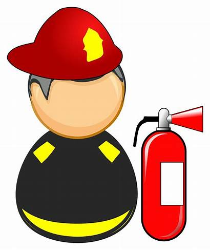 Responder Firefighter Clipart Fire Hat Icon Svg