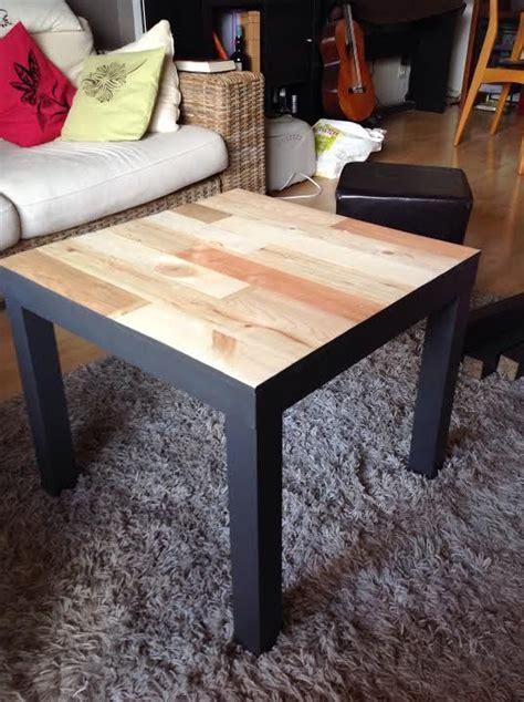 relooking table basse ikea lack avec palettes craft ideas meubles ikea relooker meuble et