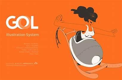Behance Gol System Dedans Graphic Typography Plageiledyeu
