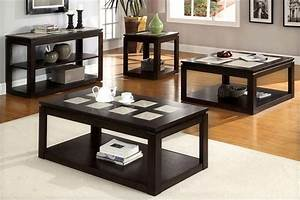 Modern coffee and end table sets for Modern coffee table and end table set