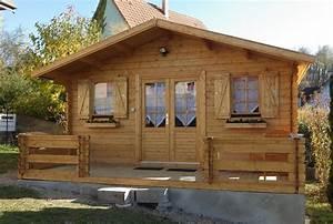 chalet en bois 20m2 mzaolcom With construire un garage en bois 20m2