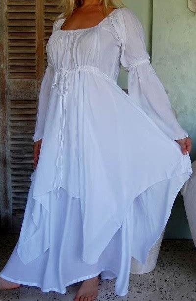 swirl clothing boho peasant dress     angel wedding