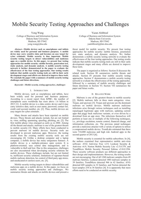 mobile security testing pdf mobile security testing approaches and challenges