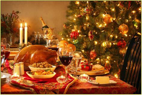 christmas dinner table decorations  wathall son