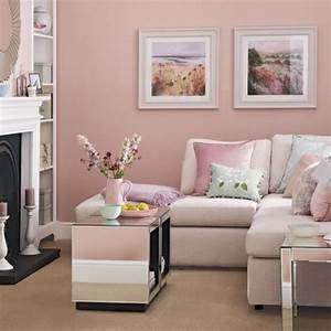30 extremely charming pink living room design ideas rilane With charming salon couleur taupe et beige 2 deco salon 40m2