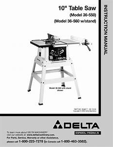 Delta Table Saw 36