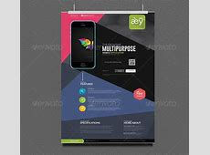 30 Effective Web & Mobile Apps Flyer PSD Templates – Bashooka