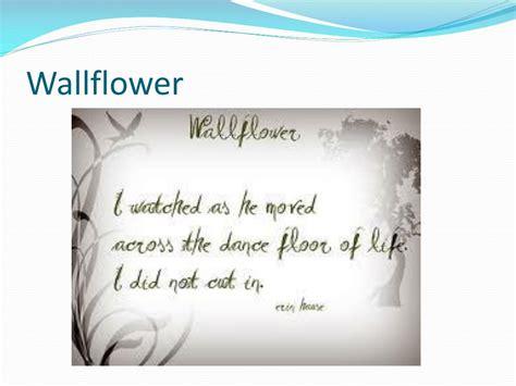 wallflower sijo haiku english ppt powerpoint presentation