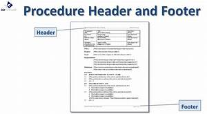 Writing standard operating procedures writing sop for Written procedures template