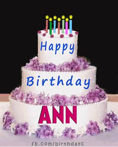 Birthday Happy Ann Cake Hbday Wishes Song