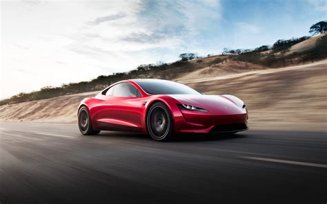 New Tesla Roadster Revealed  250mph And 060 In 19
