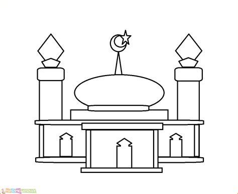 41 gambar mewarnai masjid nabawi paling populer