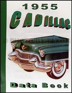 1955 Cadillac Repair Shop Manual Reprint Supplement For