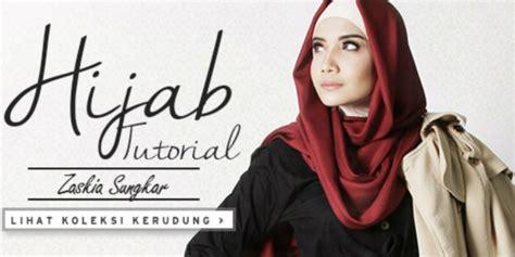 Jangan Takut Hamil Tutorial Hijab Chic Ala Zaskia Sungkar Dream Co Id