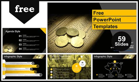 money finance powerpoint templates  fully