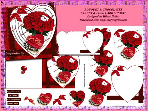 Happy mothers day with red line and heart. Cut & Fold Heart Shaped Front Cards
