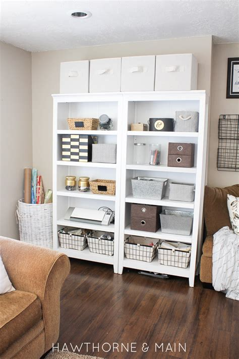 craft and main media cabinet craft room storage with limited space hawthorne and main