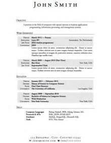 basic resume templates australia news currículum vitae básico en inglés modelo curriculum