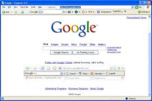 Google Homepage Internet Explorer