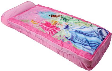 sleeping bag with air mattress disney princess ez bed airbed sleeping bag shop your