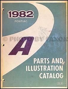 1982 Pontiac 2 5  5 0 Electronic Fuel Injection  U0026 1 8 Ohc