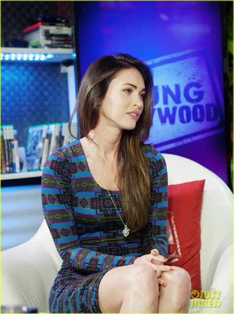 megan fox young hollywood studios visit photo