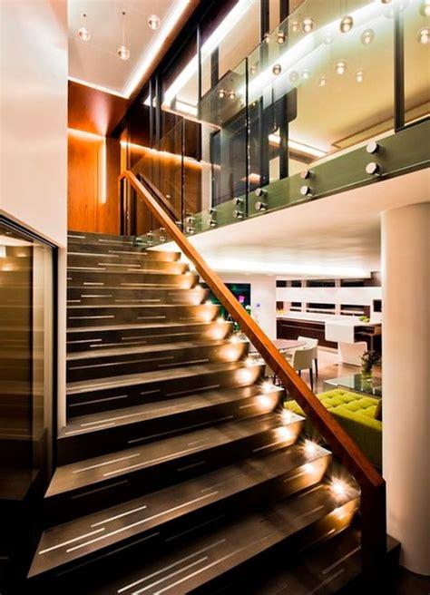 absolutely amazing  modern stairway lighting ideas
