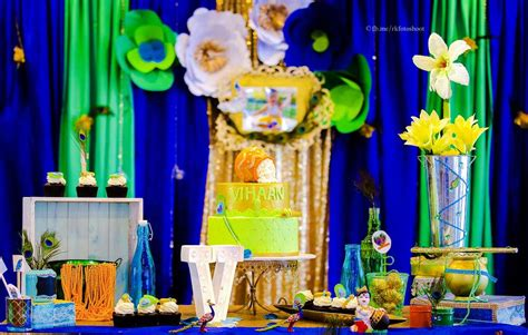krishna theme birthday party ideas photo    catch