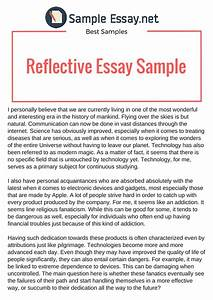 Reflective Essay Thesis Cover Letter For Order Management Position  Individual Reflective Essay