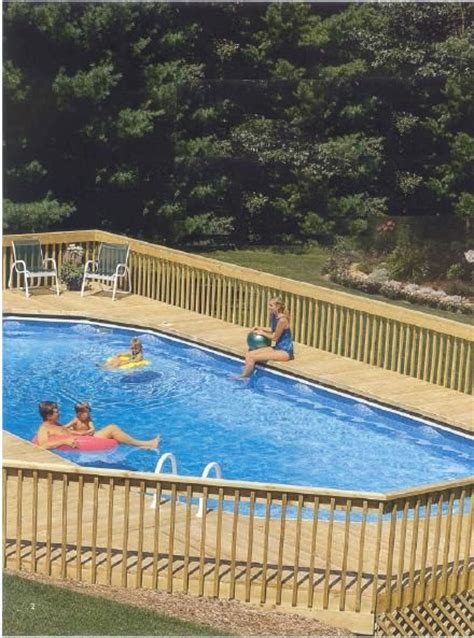 above ground oval pool deck pictures above ground pool decks above ground oval pool deck