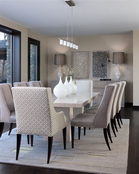White Decor Dining Areas by Arts And Crafts Dining Room Decor Ideas