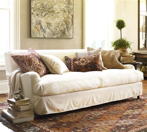 Slipcover Sofa Furniture by How To Choose The Right Slipcover Makeover Your In