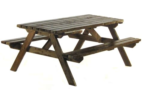 wooden picnic bench hire weddings  exhibition