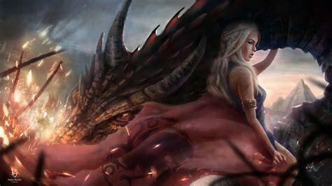 daenerys targaryen hd wallpaper background image
