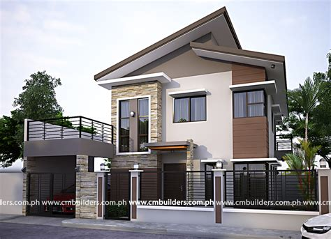 Best Mid Medium Size Modern House Design